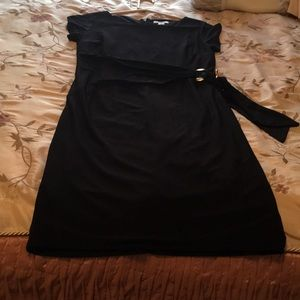 Black dress. Stretch material. Size small.